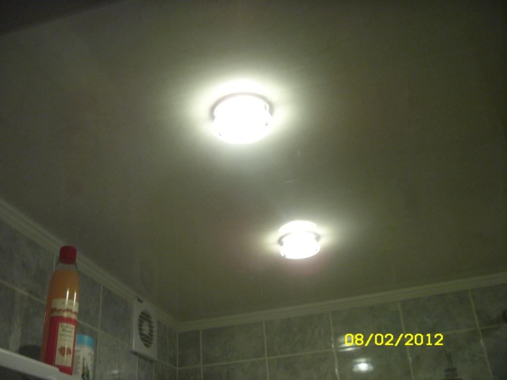 Suspended Ceiling In Bathroom
